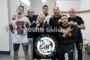 El GRAIÑO TEAM triunfa en las MMA profesionales en AFL13 Gijon
