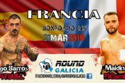Iago Barros se enfrentará al invicto 3 veces Campeón de Francia del peso ligero Maidin Elgarni
